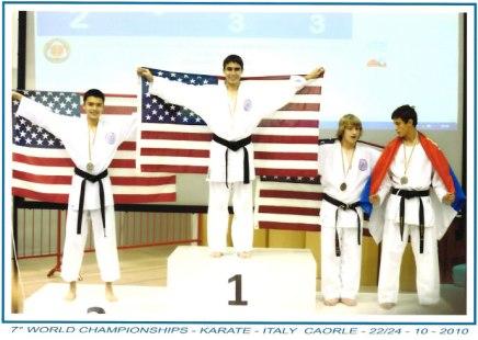 Karate Kid Shines at the World KarateChampionships