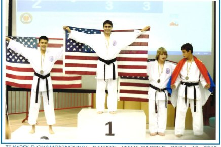 Karate Kid Shines at the World Karate Championships