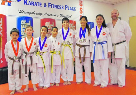 Karate Athletes Bring HomeMedals