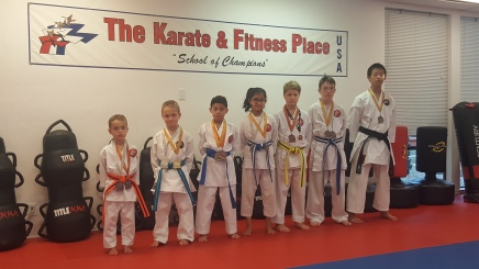 Karate Kids Score Big at Competition