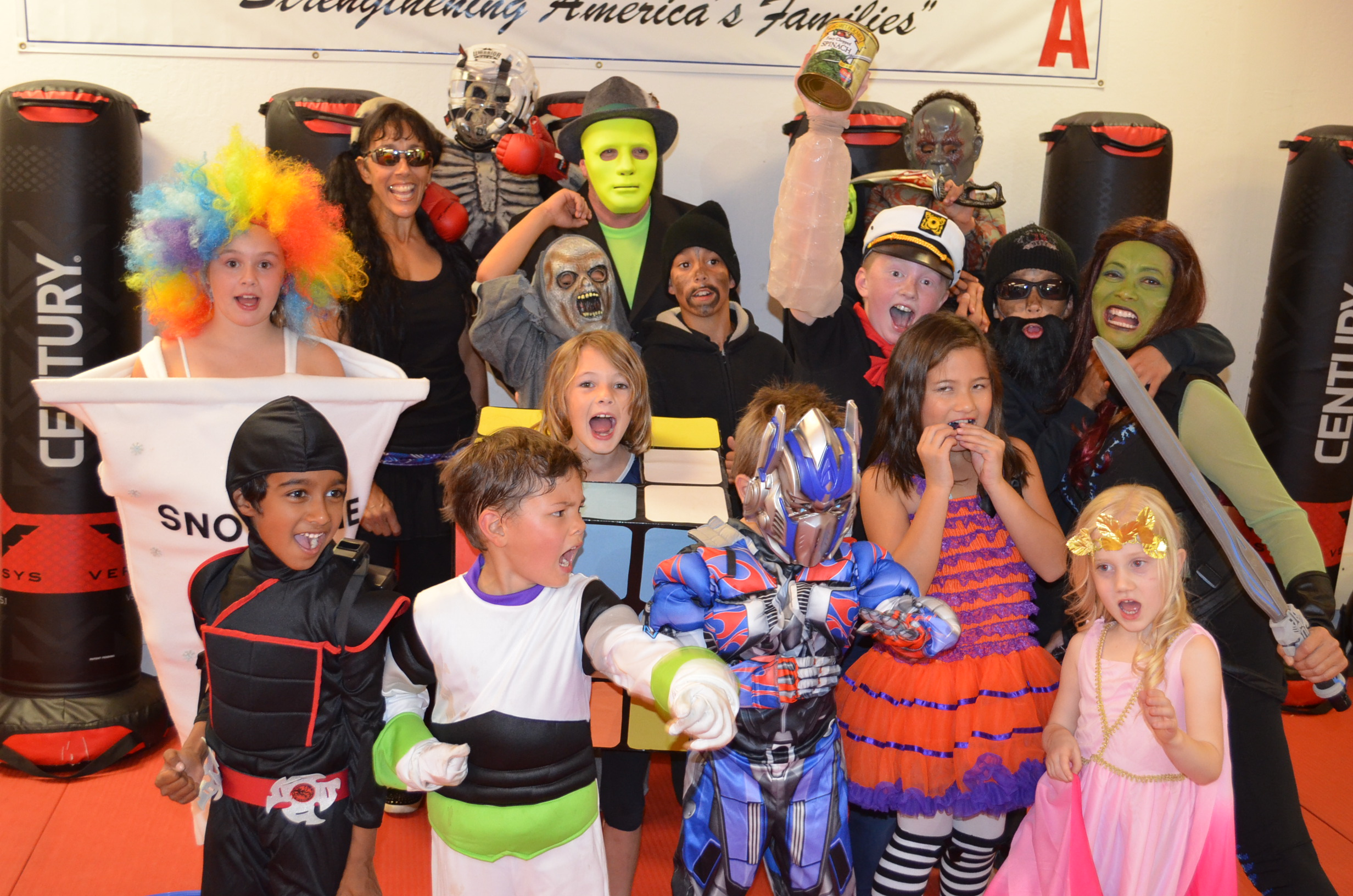 Halloween Party… Fun… Fun… Fun! | Karate Fitness USA