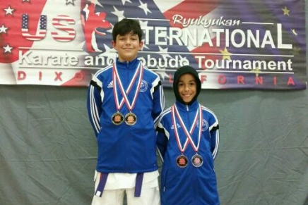 Brothers Take HomeMedals!