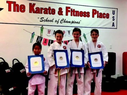 Karate Students Recognized by State