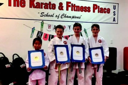 Karate Students Recognized byState